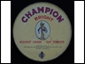 Champion Bright Flake Cut 2oz Tobacco Tin