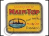 Main Top Navy Cut Tobacco Tin 1oz