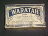 Waratah Dark Cut 1lb Tobacco Box