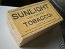 Sunlight Dark Flake Cut ?lb Tobacco Box