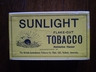 Sunlight Flake Cut ?lb Tobacco Box