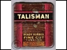 Talisman Fine Cut 1oz Tobacco Tin