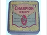 Champion Ruby Fine Cut 1oz Tobacco Tin