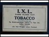 I.X.L Dark Flake Cut 1lb Tobacco Box