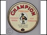 Champion Fine Cut Round 2oz Tobacco Tin