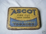 Ascot Fine Cut Tobacco Tin 2oz
