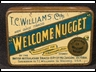 Welcome Nugget Tobacco Tin 2oz