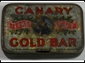 Canary Flake Cut Gold Bar 2oz Tobacco Tin
