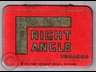 Right Angle Flake Cut Tobacco Tin 2oz