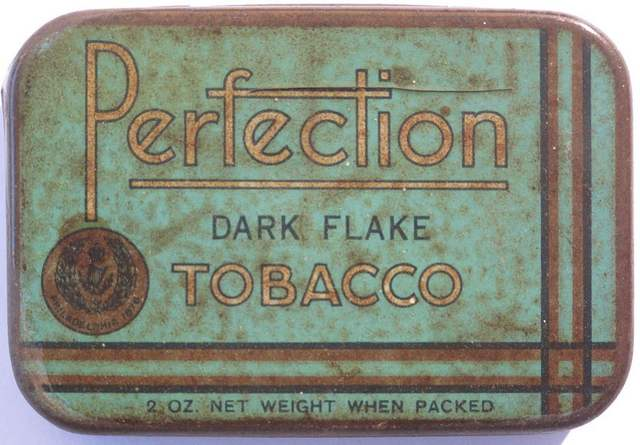 Perfection Dark Flake 2oz Tobacco Tin