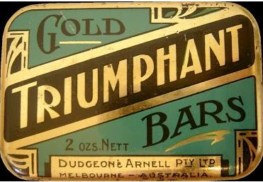 Gold Triumphant Bars 2oz
