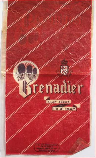 Grenadier Fine Cut 2oz Tobacco Pouch