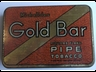 Gold Bar Square Flake Pipe 2oz
