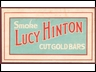 Lucy Hinton Small Cardboard Sign