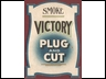 Victory Small Cardboard Shop Sign1