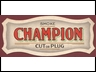 Champion Small Cardboard Sign